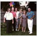 Danka's 70th Birthday June 7, 1992 (with her niece and nephews)